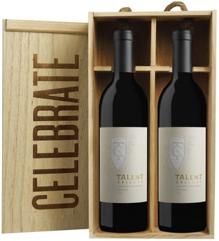 """Celebrate"" Gift Box: Two 2015 Cabernet Sauvignons/Harry & David"