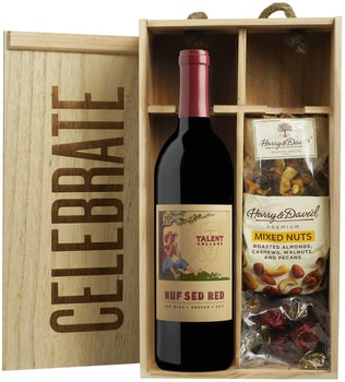 """Celebrate"" Gift Box: 2016 'Nuf Sed Red' /Harry & David"